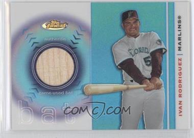 2003 Topps Finest - Bat #FRB-IR - Ivan Rodriguez