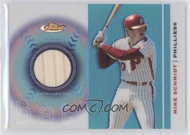 2003 Topps Finest - Bat #FRB-MS - Mike Schmidt