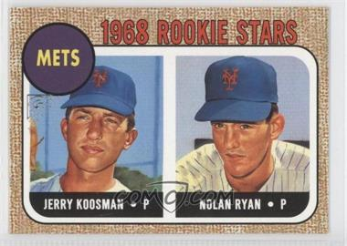 2003 Topps Gallery - Heritage #GH-KR - Nolan Ryan, Jerry Koosman