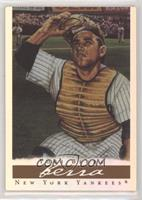 Yogi Berra (brown chest protector, with ads) [EXtoNM]
