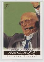 Ernie Harwell (green background)
