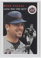 Mike Piazza (Black Background)