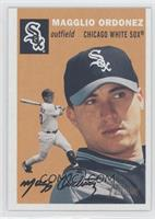 Magglio Ordonez (Brown Background, Sox Word in Logo)
