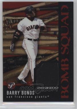 2003 Topps Pristine - Bomb Squad #PBS-BB - Barry Bonds