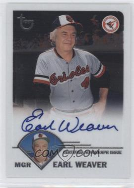 2003 Topps Retired Signature Edition - Autographs #TA-EW - Earl Weaver