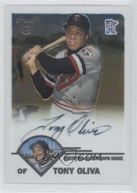 2003 Topps Retired Signature Edition - Autographs #TA-TO - Tony Oliva