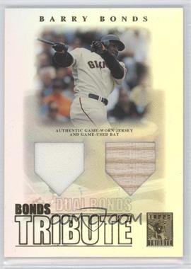 2003 Topps Tribute - Contemporary Edition - Bonds Tribute #BT-DB - Barry Bonds