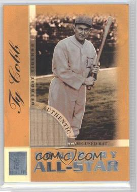 2003 Topps Tribute - Perennial All-Star Edition - Relics - Gold #TR-TC - Ty Cobb /25