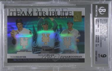 2003 Topps Tribute World Series - Team Tribute Relics #TTR-SRK - Tom Seaver, Nolan Ryan, Jerry Koosman /275 [BGS9MINT]