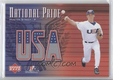 2003 Upper Deck - National Pride #NP-HS - Huston Street