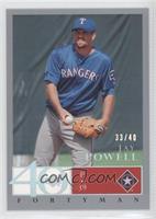 Jay Powell /40