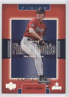 2003 Upper Deck Finite - [Base] #263 - Nate Bland /1299