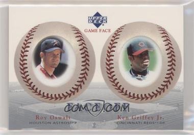 2003 Upper Deck Game Face - [Base] #172 - Ken Griffey Jr., Roy Oswalt