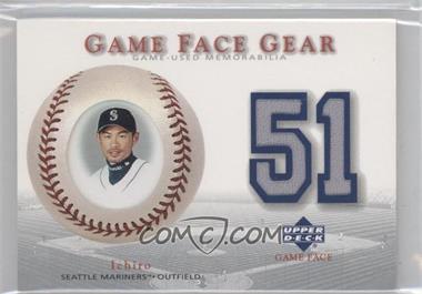 2003 Upper Deck Game Face - Gear #GG-IS - Ichiro
