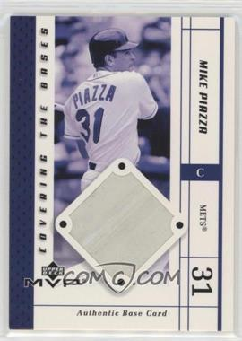 2003 Upper Deck MVP - Covering the Bases #CB-MP - Mike Piazza