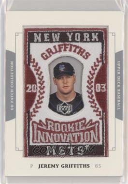 2003 Upper Deck Patch Collection Base 154 Jeremy