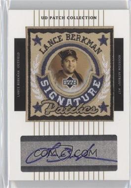 2003 Upper Deck Patch Collection - Signature Patches #SP-LB - Lance Berkman