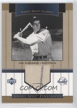 2003 Upper Deck Sweet Spot Classic - Pinstripes #SP-JD - Joe DiMaggio