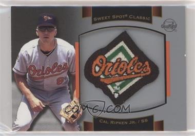2003 Upper Deck Sweet Spot Classic - Souvenir Logo Patch #P-CR1 - Cal Ripken Jr.