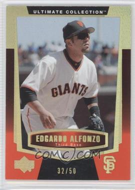 2003 Upper Deck Ultimate Collection - [Base] - Gold #70 - Edgardo Alfonzo /50