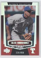 Alex Rodriguez /850