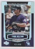Todd Helton /850