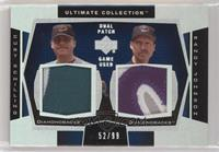 Curt Schilling, Randy Johnson #/99