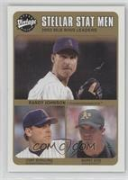 Curt Schilling, Barry Zito, Randy Johnson