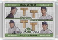Curt Schilling, Matt Williams, Luis Gonzalez, Randy Johnson /175