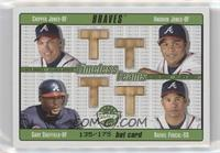 Rafael Furcal, Chipper Jones, Andruw Jones, Gary Sheffield /175