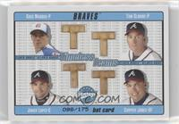 Tom Glavine, Greg Maddux, Javy Lopez, Chipper Jones /175