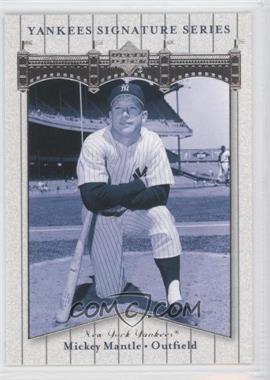 2003 Upper Deck Yankees Signature Series - [Base] #59 - Mickey Mantle