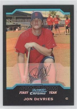 2004 Bowman Chrome - [Base] - Refractor #304 - Jon DeVries