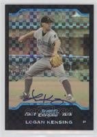 First Year Autograph - Logan Kensing