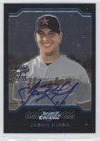 First Year Autograph - Jason Hirsh