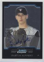 First Year Autograph - Dustin Nippert