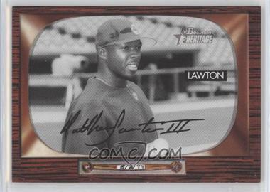 2004 Bowman Heritage - [Base] - Black & White #184 - Matt Lawton