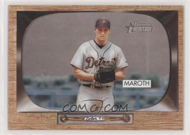 2004 Bowman Heritage - [Base] #24 - Mike Maroth