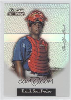 2004 Bowman Sterling - [Base] - Refractor #BS-ESP - Ervin Santana /199
