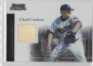 2004 Bowman Sterling - [Base] #BS-CC - Chad Cordero