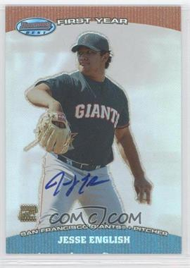 2004 Bowman's Best - First Year Autographs #BB-JE - Jesse English