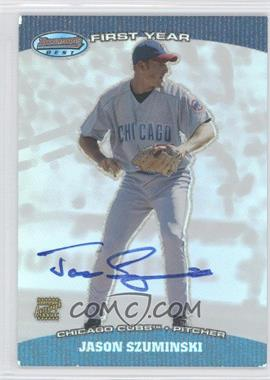 2004 Bowman's Best - First Year Autographs #BB-JSZ - Jason Szuminski