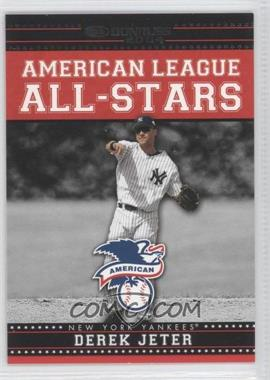 2004 Donruss - American League All-Stars - Black #AL-AS-6 - Derek Jeter /250