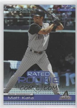 2004 Donruss - [Base] - Stat Line Season #57 - Matt Kata /74