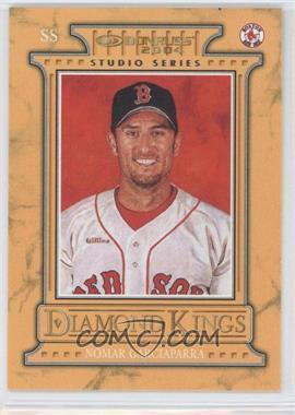 2004 Donruss - Diamond Kings Inserts - Studio Series #DK-20 - Nomar Garciaparra /250