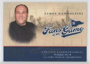 2004 Donruss - Fans of the Game #201FG-1 - James Gandolfini /300