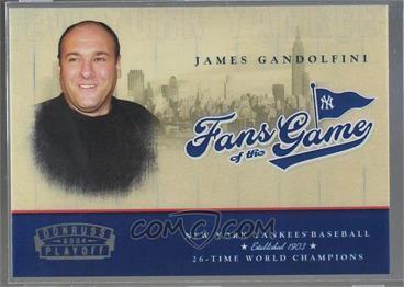 2004 Donruss - Fans of the Game #201FG-1 - James Gandolfini /300