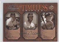 Frank Robinson, Cal Ripken Jr., Brooks Robinson /500