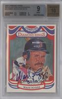 Wade Boggs /13 [BGS 9]