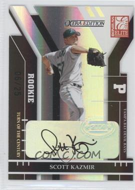 2004 Donruss Elite Extra Edition - [Base] - Turn of the Century Signatures [Autographed] #230 - Scott Kazmir /25